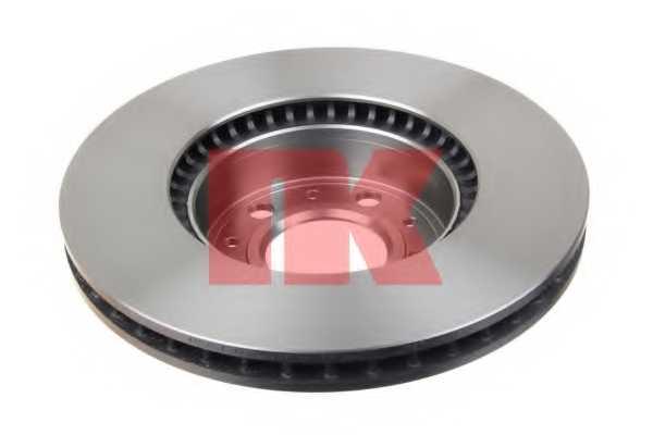 Тормозной диск NK 204831 - изображение