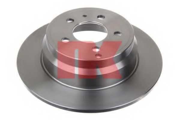 Тормозной диск NK 204833 - изображение