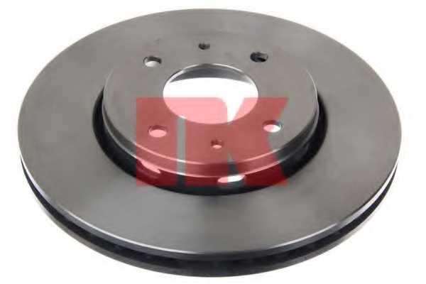 Тормозной диск NK 204839 - изображение 1
