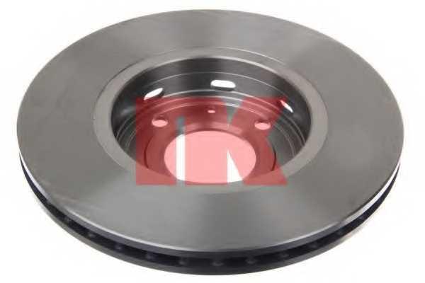Тормозной диск NK 204839 - изображение