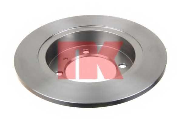Тормозной диск NK 204840 - изображение 1