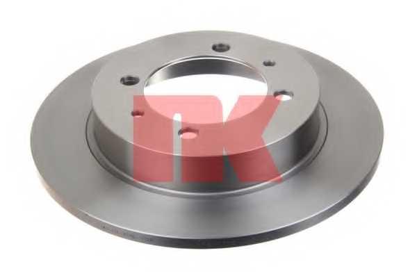 Тормозной диск NK 204840 - изображение