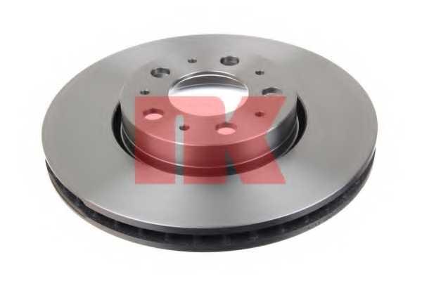 Тормозной диск NK 204841 - изображение 1