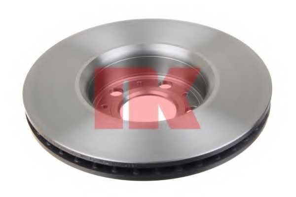 Тормозной диск NK 204841 - изображение