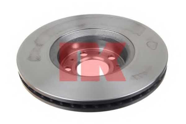 Тормозной диск NK 204842 - изображение 1