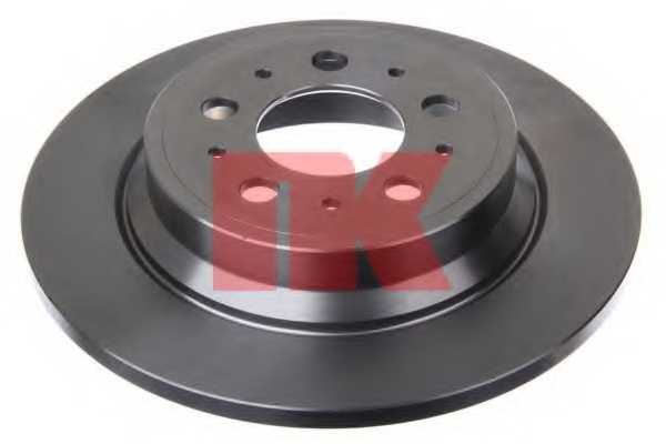 Тормозной диск NK 204843 - изображение 1
