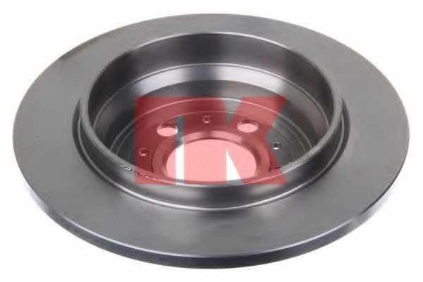 Тормозной диск NK 204843 - изображение