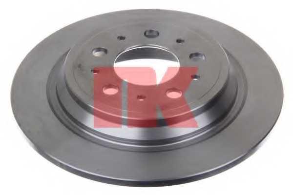 Тормозной диск NK 204846 - изображение 1