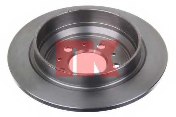 Тормозной диск NK 204846 - изображение