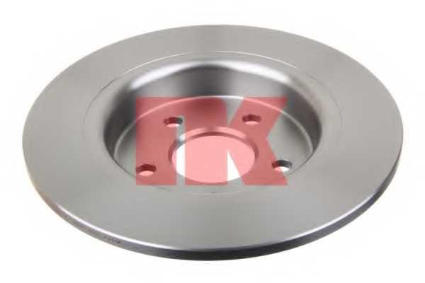 Тормозной диск NK 204847 - изображение 1