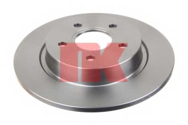 Тормозной диск NK 204847 - изображение