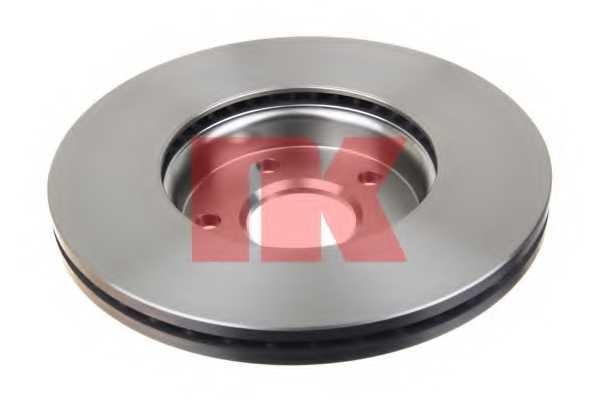 Тормозной диск NK 204848 - изображение 1