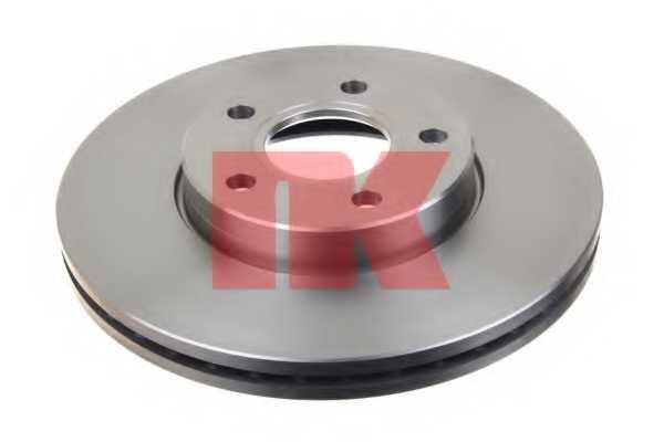 Тормозной диск NK 204848 - изображение