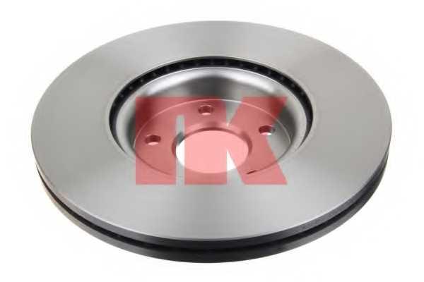 Тормозной диск NK 204849 - изображение 1