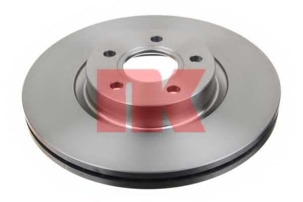 Тормозной диск NK 204849 - изображение
