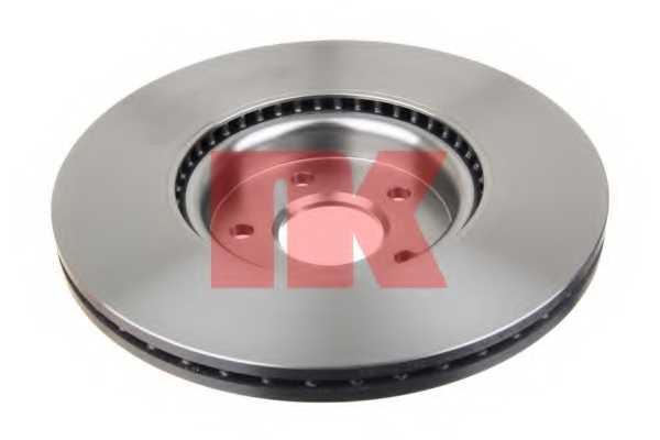 Тормозной диск NK 204850 - изображение 1