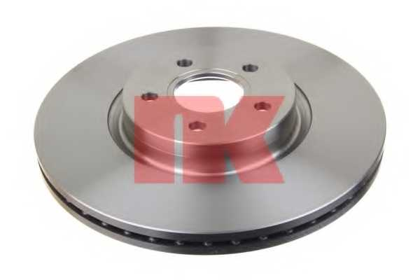 Тормозной диск NK 204850 - изображение