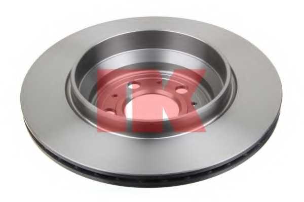 Тормозной диск NK 204852 - изображение 1