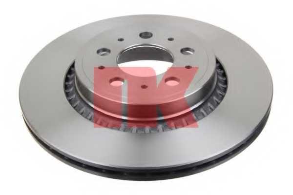 Тормозной диск NK 204852 - изображение