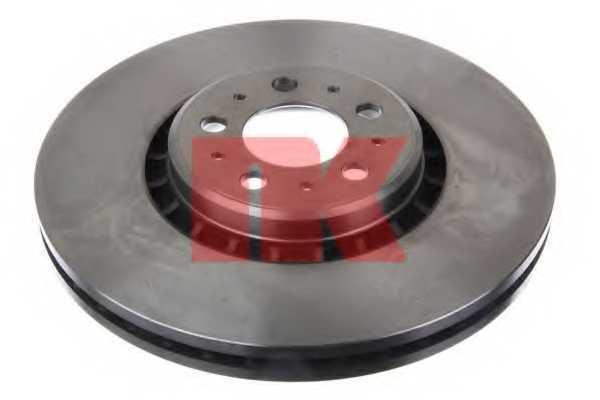 Тормозной диск NK 204853 - изображение 1