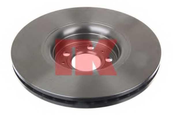 Тормозной диск NK 204853 - изображение