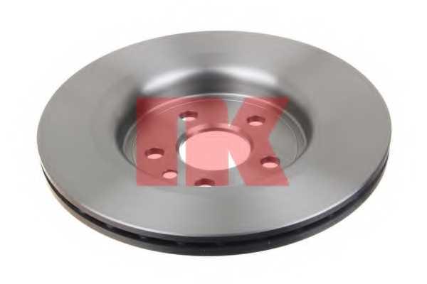 Тормозной диск NK 204858 - изображение 1