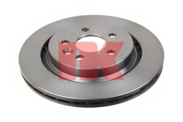Тормозной диск NK 204858 - изображение