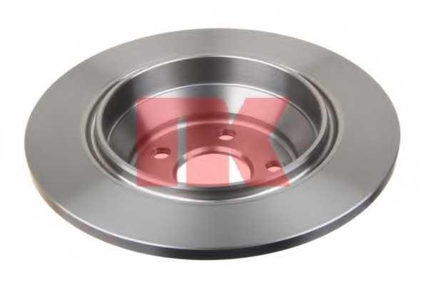 Тормозной диск NK 204859 - изображение 1