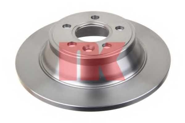 Тормозной диск NK 204859 - изображение