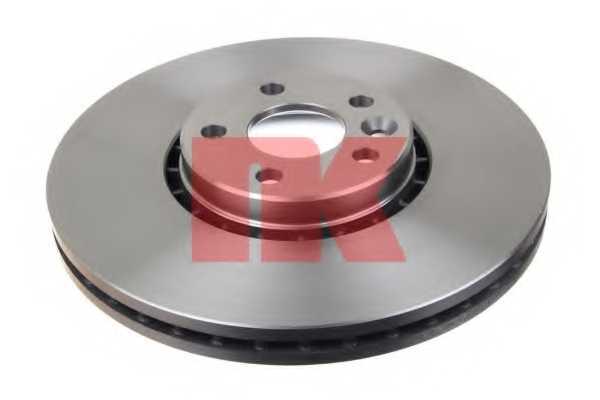 Тормозной диск NK 204860 - изображение 1