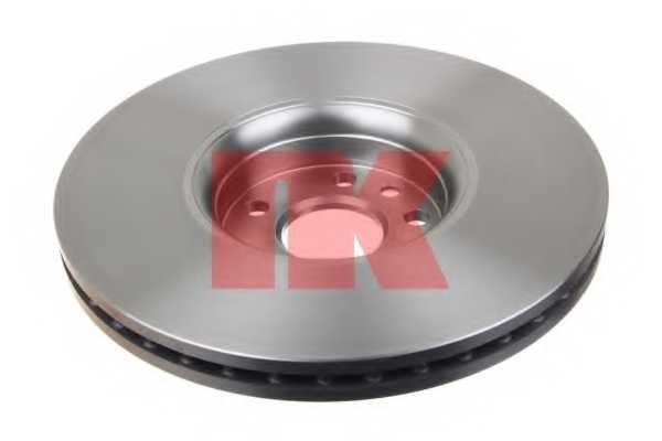 Тормозной диск NK 204860 - изображение