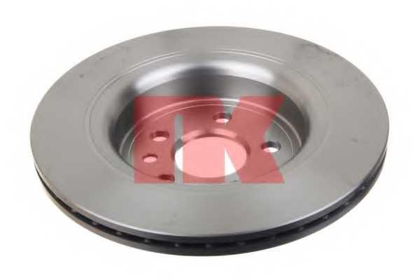 Тормозной диск NK 204861 - изображение 1