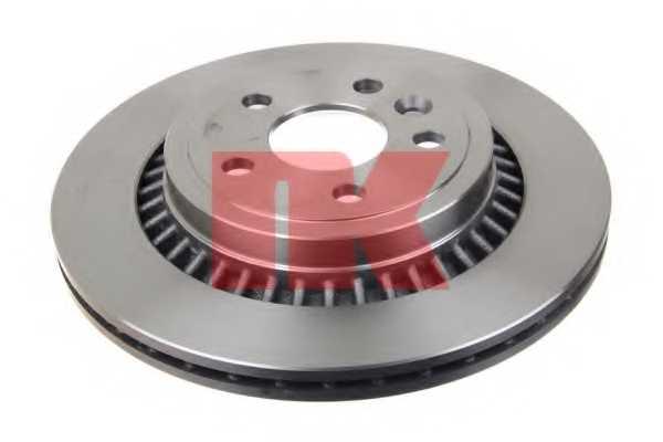 Тормозной диск NK 204861 - изображение