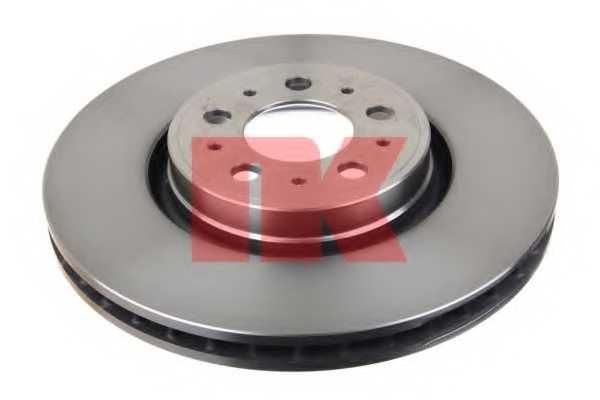Тормозной диск NK 204862 - изображение 1