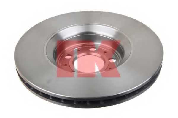 Тормозной диск NK 204862 - изображение