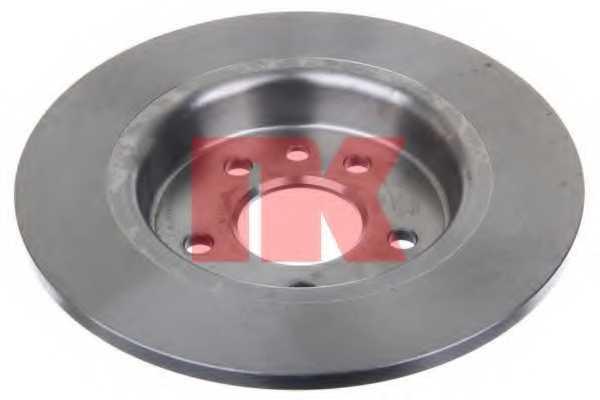Тормозной диск NK 204865 - изображение 1