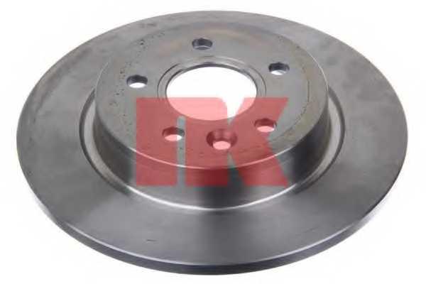Тормозной диск NK 204865 - изображение