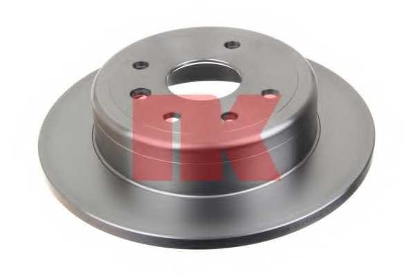 Тормозной диск NK 205017 - изображение 1