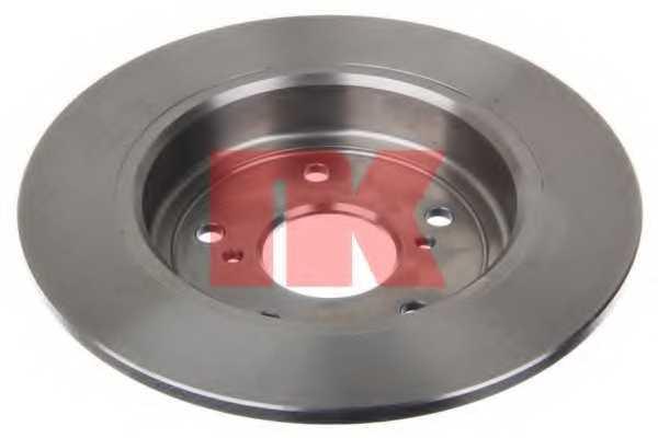 Тормозной диск NK 205222 - изображение