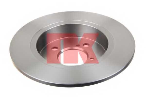 Тормозной диск NK 205225 - изображение 1