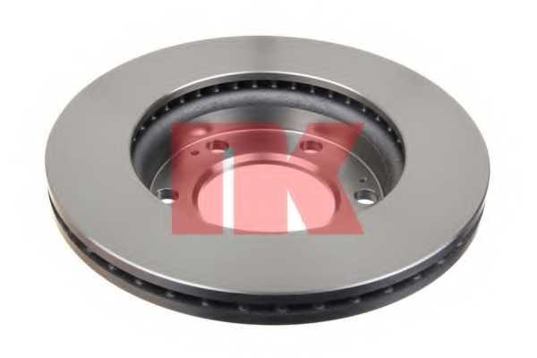 Тормозной диск NK 205702 - изображение