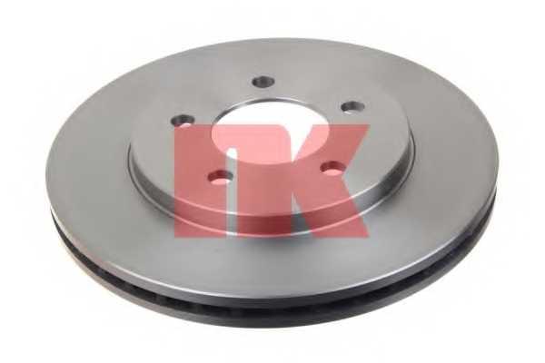 Тормозной диск NK 209301 - изображение