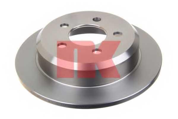 Тормозной диск NK 209307 - изображение