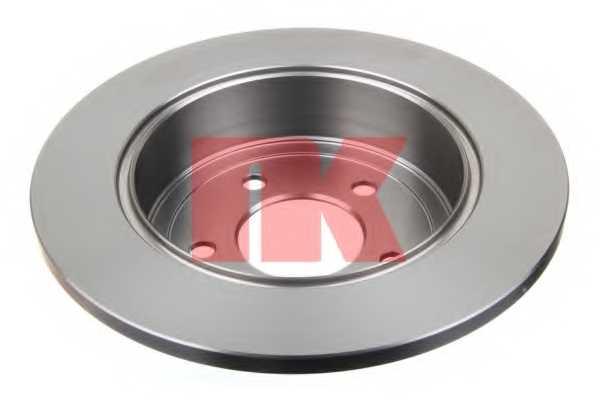 Тормозной диск NK 209311 - изображение 1