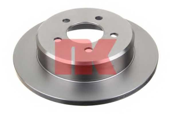 Тормозной диск NK 209311 - изображение