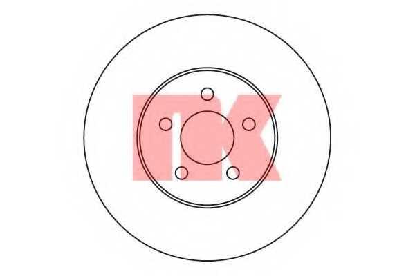Тормозной диск NK 209315 - изображение