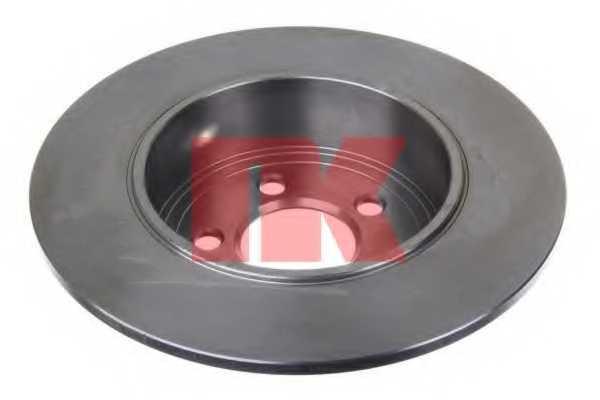 Тормозной диск NK 209323 - изображение