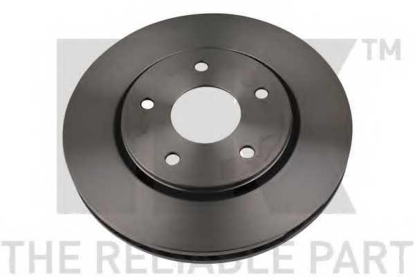 Тормозной диск NK 209333 - изображение