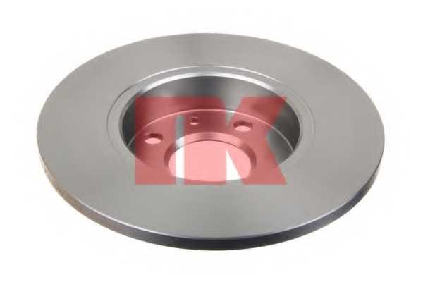 Тормозной диск NK 209922 - изображение