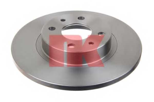 Тормозной диск NK 209932 - изображение
